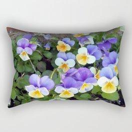 Pensée Rectangular Pillow
