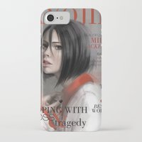 snk iPhone & iPod Cases featuring SnK Magazine: Mik by putemphasis