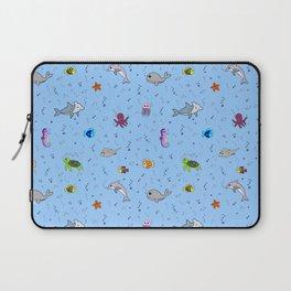 Sea creature pattern Laptop Sleeve