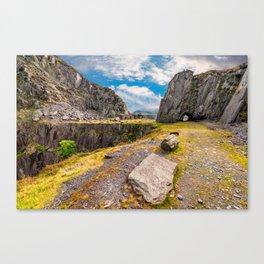 Dinorwic Slate Quarry Snowdonia Canvas Print