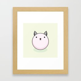 Rabbit Ball - TAMAUSAGI - Framed Art Print