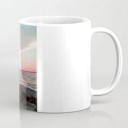Pink and Blue Sunset Over Newport Rhode Island Coffee Mug