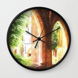 Saint Maximin la Sainte Baume Monastery, Provence Wall Clock