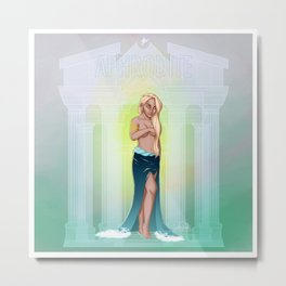 Greek Goddesses - Aphrodite Metal Print