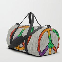 Knitting Peace Duffle Bag