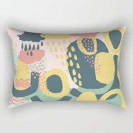 Hide and seek #vectorart #graphic #pattern #joy Rectangular Pillow