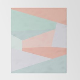Facets Throw Blanket