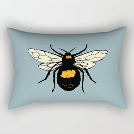 Bumblebee vector Rectangular Pillow