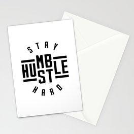 Stay Humble Hustle Hard v2 Stationery Cards