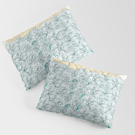 Sunny Tribal Seas Pillow Sham