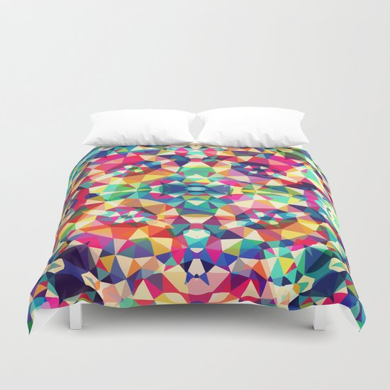 Colour Of Joy Duvet Cover
