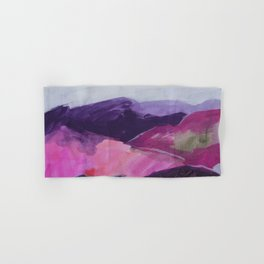 Roses Aren't Red 2 - Contemporary Abstract Landscape Hand & Bath Towel