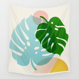 Abstraction_PLANTS_01 Wall Tapestry