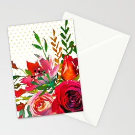 Flowers bouquet #37 Stationery Cards