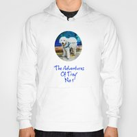 caleb troy Hoodies featuring The Adventures Of Troy I by Louisa Catharine Photography And Art