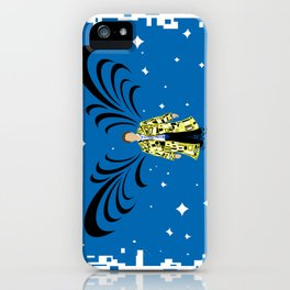 Abstract Angel iPhone Case