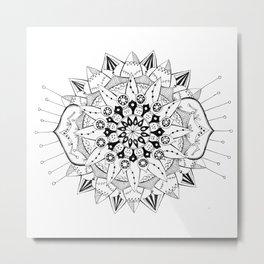 Mandala Series 03 Metal Print