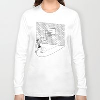 basketball Long Sleeve T-shirts featuring Basketball by Sorte