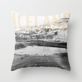 Iceland - Landscape Throw Pillow