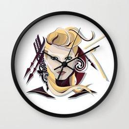 Queen Lagertha Wall Clock