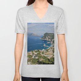 Looking at a Dream Unisex V-Neck