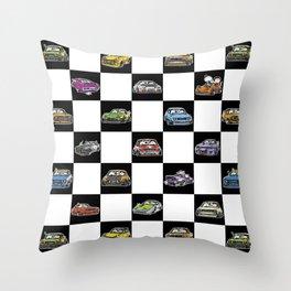 Crazy Car Art 0158 Throw Pillow