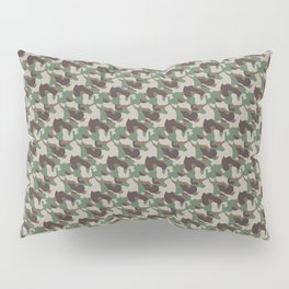 Army Inspired Pattern Pillow Sham
