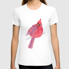 Glancing Cardinal T-shirt