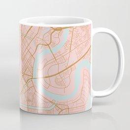 Ho Chi Minh map, Vietnam Coffee Mug
