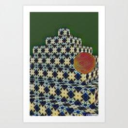New Color Pyramide 1 Art Print