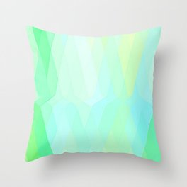 Re-Created  Keyboard 5 by Robert S. Lee Throw Pillow