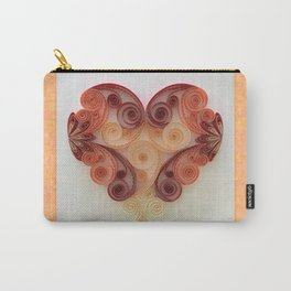 Quilling Heart 3 Carry-All Pouch