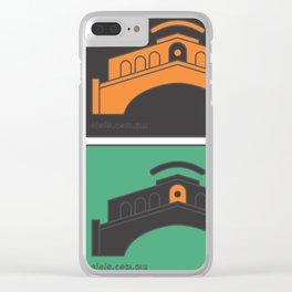 venice[ye] Clear iPhone Case