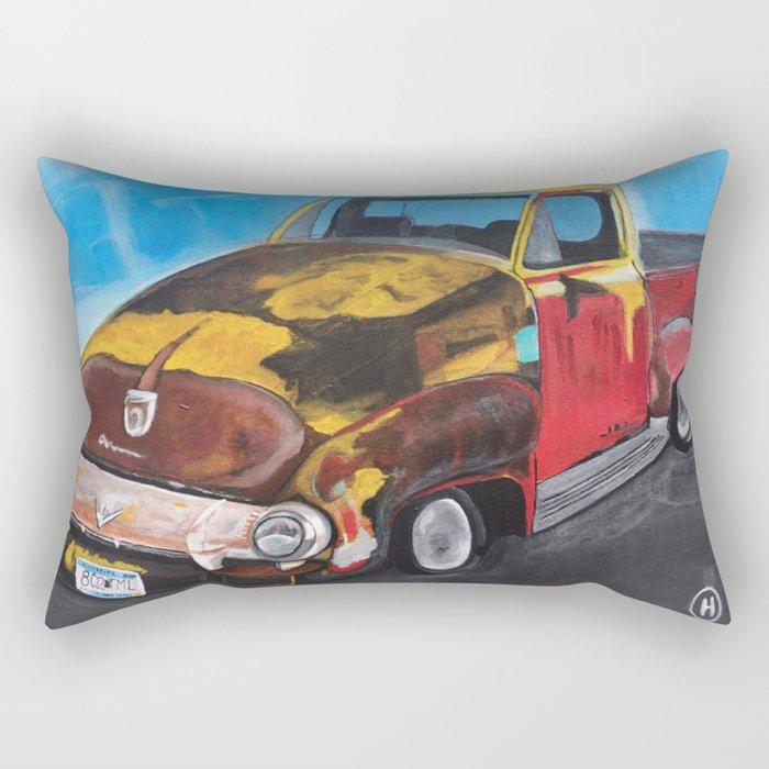 """""""Rat Rod #4"""" Rectangular Pillow"""