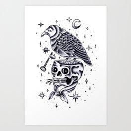 La llave mágica. Art Print