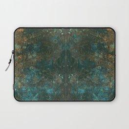 Rorschach Patina Blue Laptop Sleeve