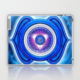 "Ajna Chakra - Brow Chakra - Series ""Open Chakra"" Laptop & iPad Skin"