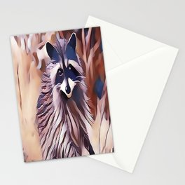 The North American Raccoon Stationery Cards
