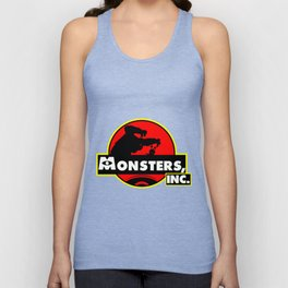 Monsters, Inc Logo.  Unisex Tank Top