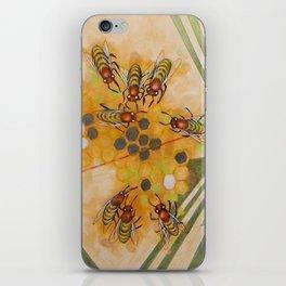 Beetles and bees iPhone Skin