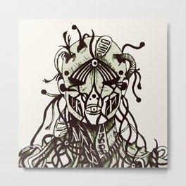 War Against Machines Metal Print