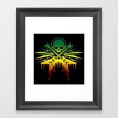 punk rock  Framed Art Print