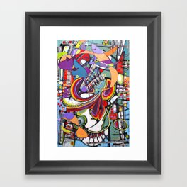 Spark Mandril Framed Art Print