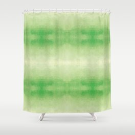 Mozaic design in soft green colors Shower Curtain