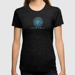 I'm dreaming of the sea - hand-drawn sand dollar, mandala T-shirt