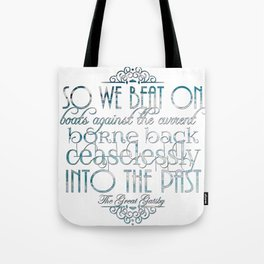 Boats Against the Current Tote Bag