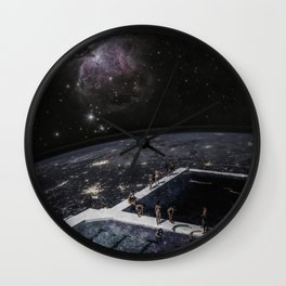 The Stars Hotel Wall Clock
