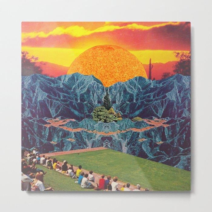Parque del Sol  Metal Print