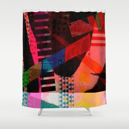 Snakes and Ladders series 3 Shower Curtain