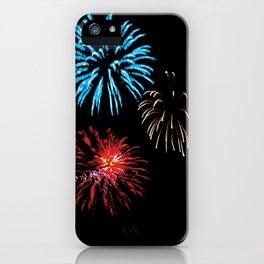 Patriotic Fireworks iPhone Case